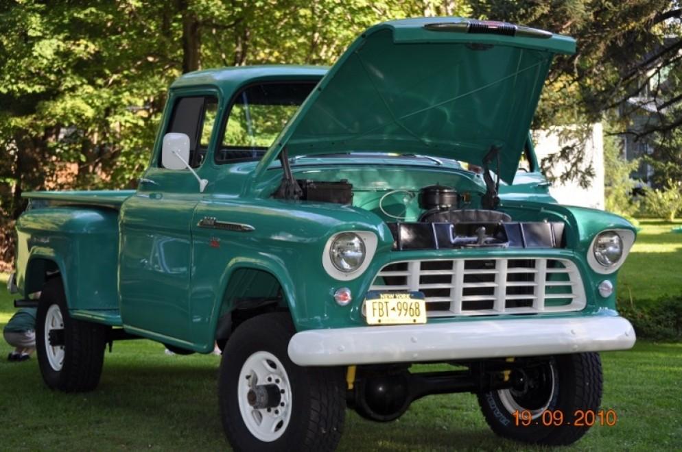 1956 Chevy 3600 NAPCO 4x4 | daveladue com